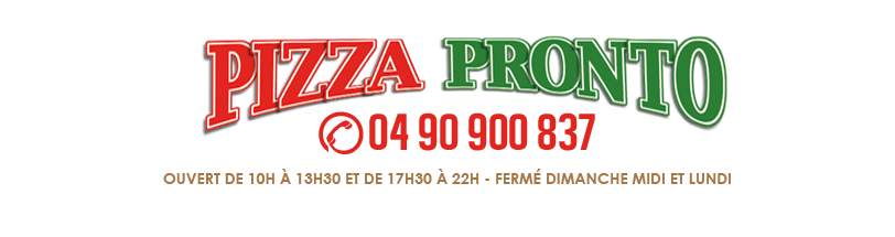 Pizza Pronto - Châteaurenard